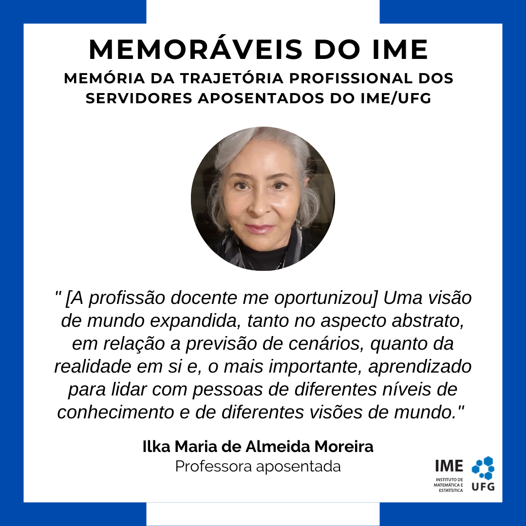 Memoráveis do IME - Ilka