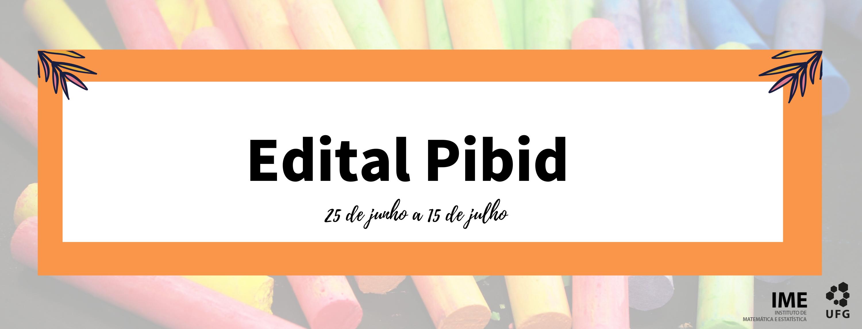 Pibid banner
