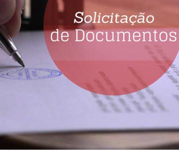 Solicitação de Documentos