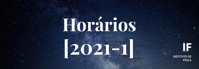 Horários 2021-1