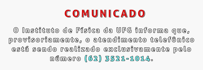 comunicado corona telefone