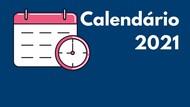 Calendário 2021 banner