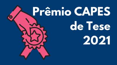 Banner premio Capes de tese 2021