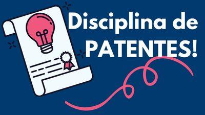 Banner - disciplina Patentes