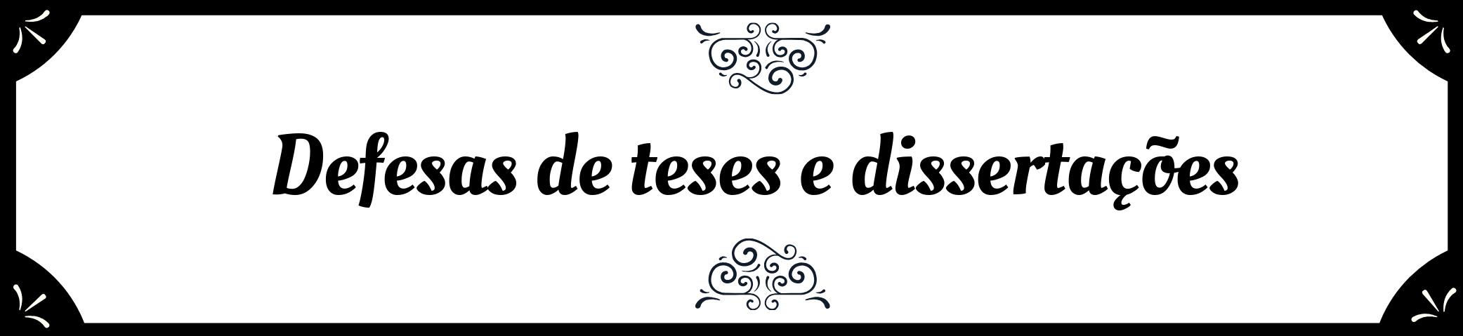 Defesas e Teses - Banner