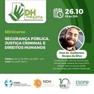 Minicurso Segurança Pública - Guilherme Borges