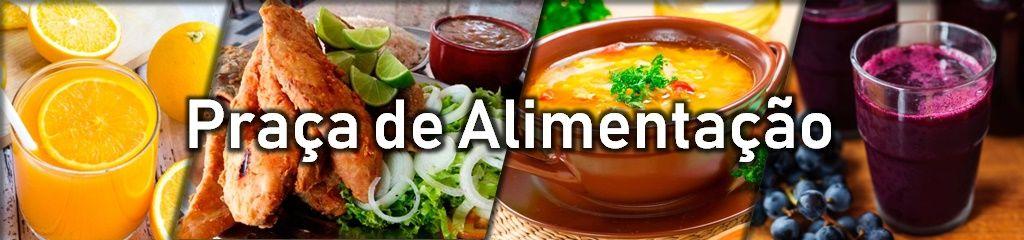 Conheça o menu da Praça de Alimentação