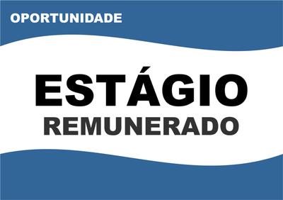 ESTÁGIO REMUNERADO