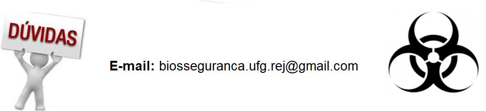 Banner com e-mail da CIBio