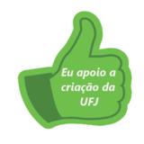 eu apoio a UFJ