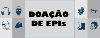 doação epi