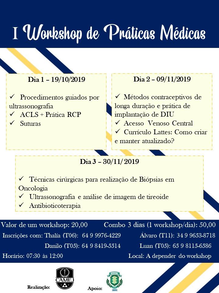 I Workshop de Práticas Médicas