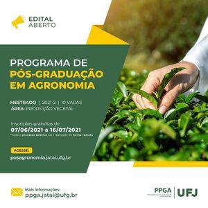 PROGRAMA DE PÓS -GRADUAÇÃO EM AGRONOMIA