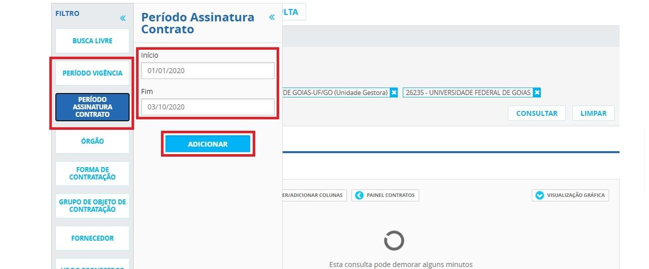 Portal da Transparência - Contratos 3