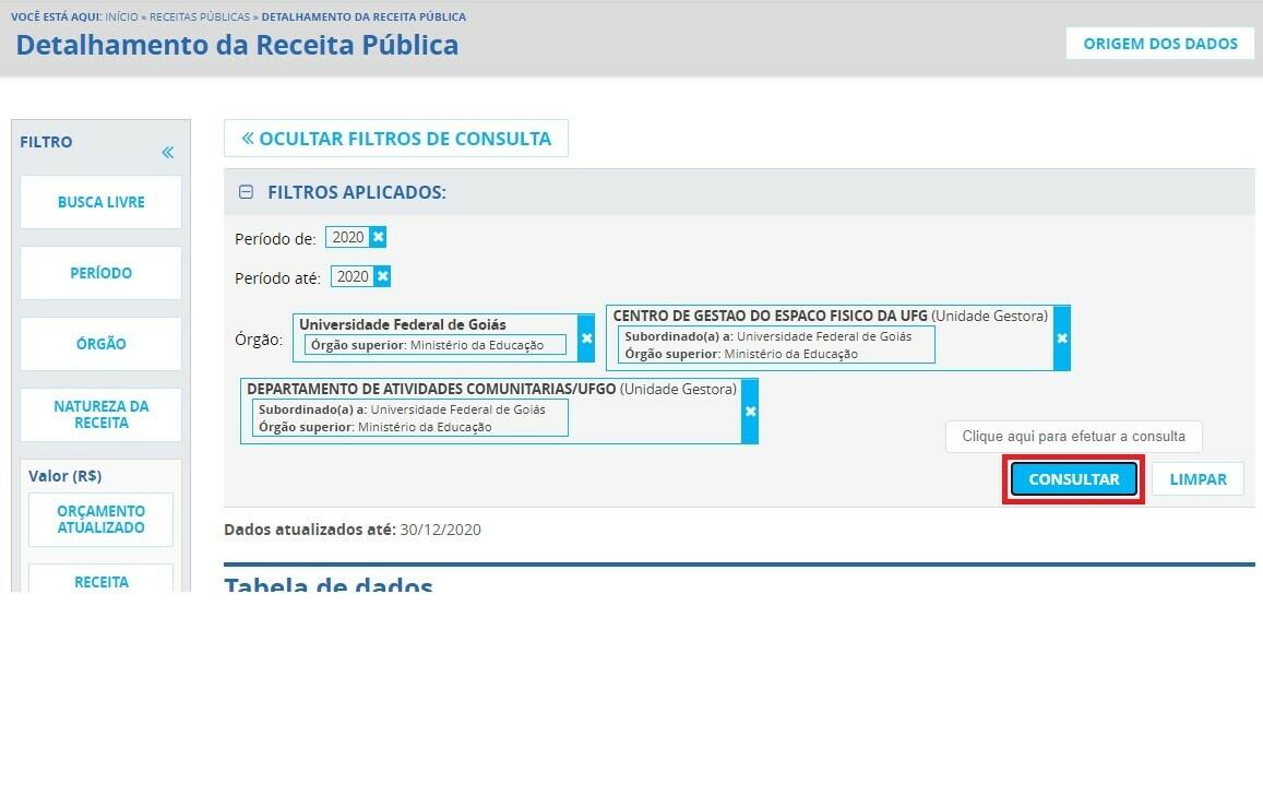 Portal da Transparência - Receitas 4