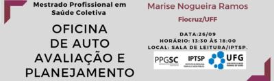 Oficina de Auto Avaliação e Planejamento  do PPGSC