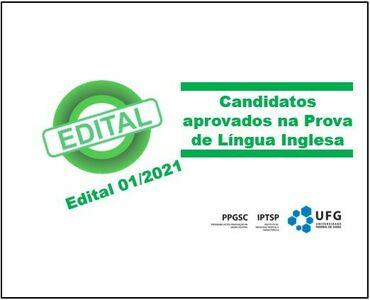 Resultado Final prova de Inglês