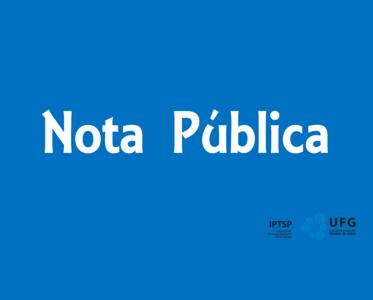 Imagem Nota Pública