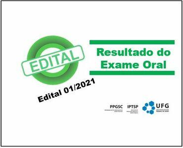 resultado do exame oral