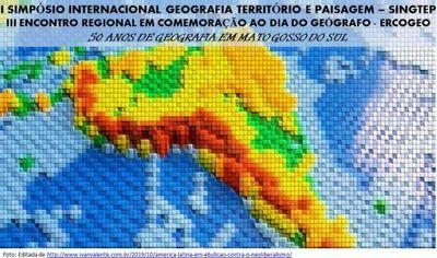 I SIMPÓSIO INTERNACIONAL DE GEOGRAFIA, TERRITÓRIO E PAISAGEM - SINGTEP