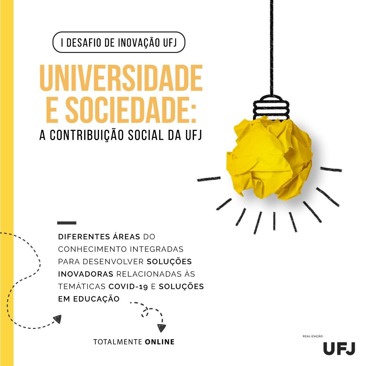 I Desafio de Inovação UFJ