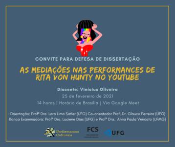 Flyer Vinicius Oliveira