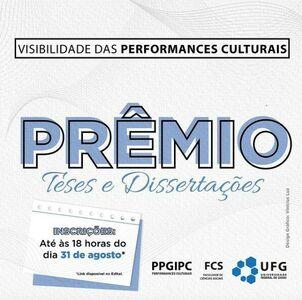 Flyer Prêmio Teses e Dissertações