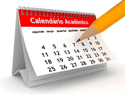 Calendário acadêmico notícia