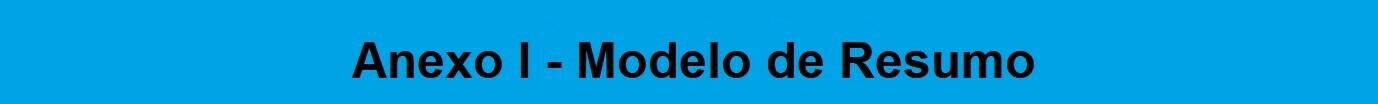 Banner Pibid - Anexo I - Modelo de Resumo
