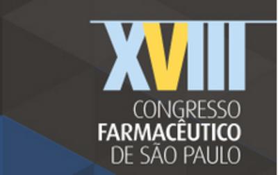 Logo - Congresso Farmacêutico de São Paulo.