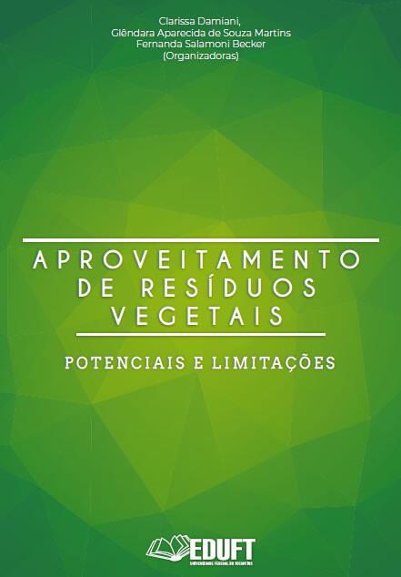 Capa Livro Aproveitamento de Resíduos Vegetais