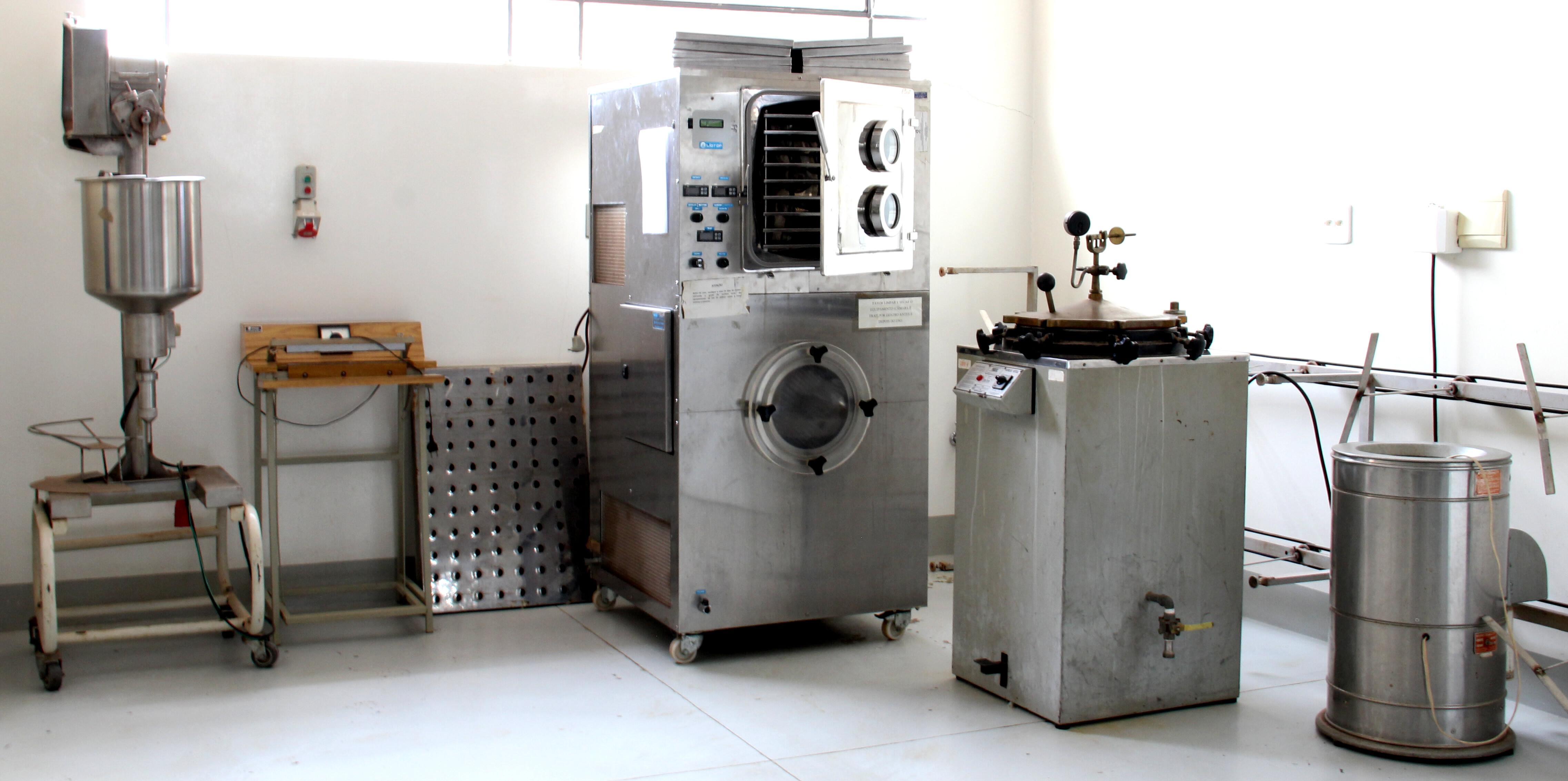 Laboratório de Vegetais e Derivados