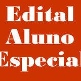 Banner Edital Aluno Especial
