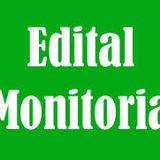 Edital Monitoria
