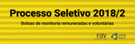 Processo Seletivo para Monitoria para Faculdade de Artes Visuais 2018/2