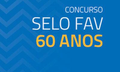 Concurso selo comemorativo 60 anos da FAV