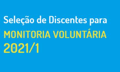 monitoria voluntaria 2021-1