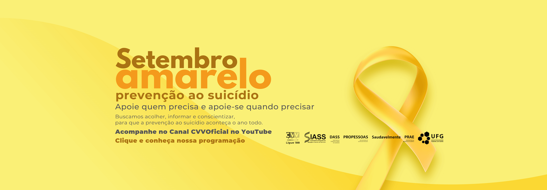 Banner - Setembro Amarelo 2020