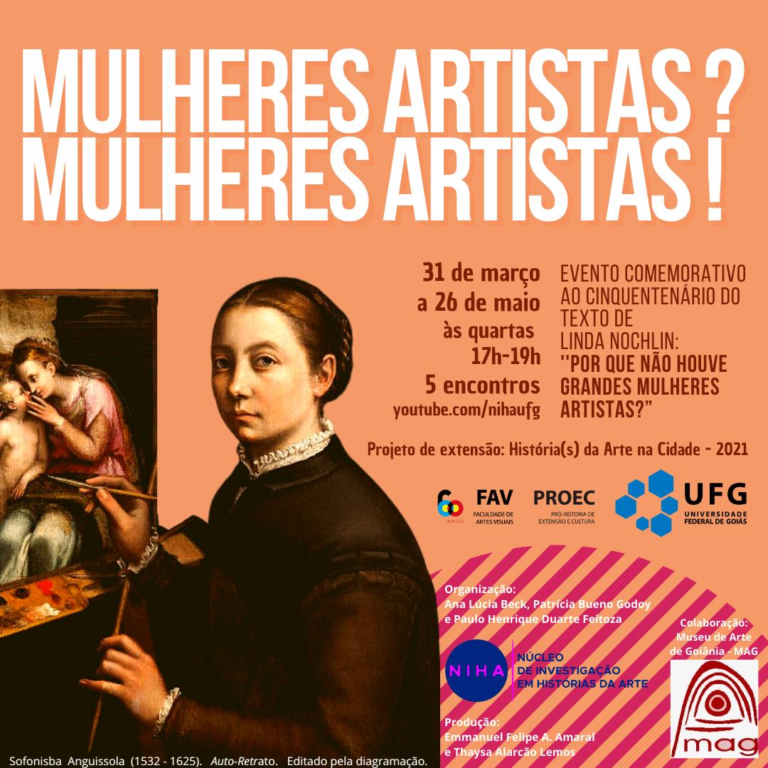 Arte Mulheres Artistas?