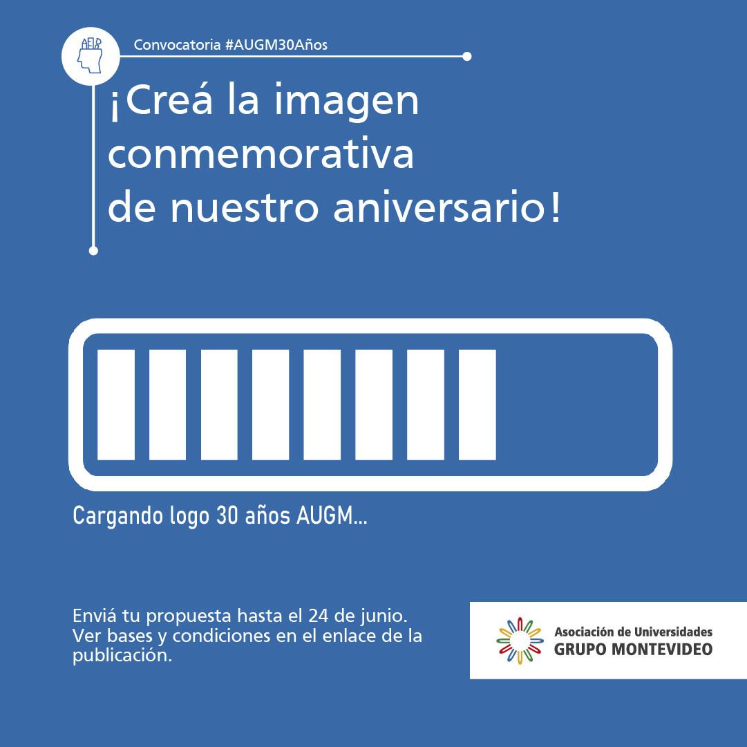 Imagem divulgação concurso logotipo AUGM
