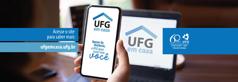 UFG em casa - banner