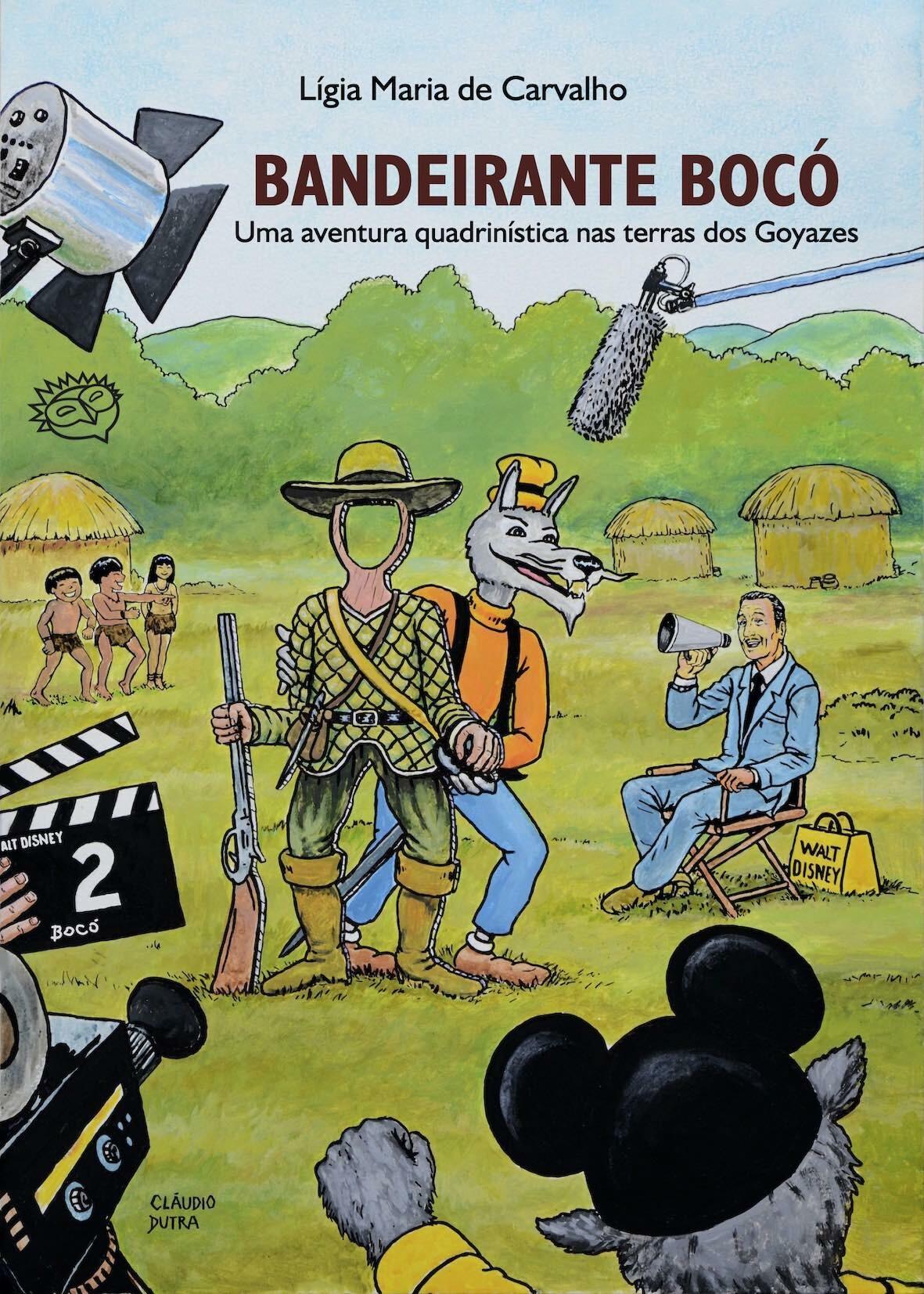 Bandeirante Bocó:uma aventura quadrinística nas terras dos Goyazes