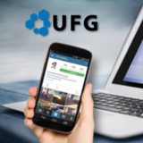 Sites da redes sociais da UFG.