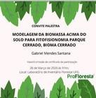 Modelagem da Biomassa Acima do Solo para a Savana Parque, Bioma Cerrado