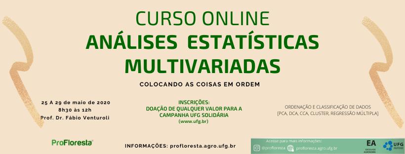 Curso de Análises Estatísticas Multivariadas