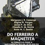 Do Ferreiro a Magnetita: o Vídeo Educativo como Alternativa para a Implementação da Lei 10.639/03.