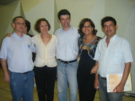 II Congresso de Fenomenologia - Professores presentes no evento