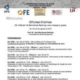 "Minicurso sobre os ""talleres criativos"" (oficinas criativas) desenvolvidas pelo Prof. Dr. José Barrientos-Rastrojo, da Universidad de Sevilla, Espanha."