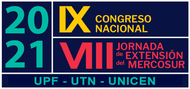 IX Congreso Nacional de Extensión y las VIII Jornadas de Extensión del Mercosur