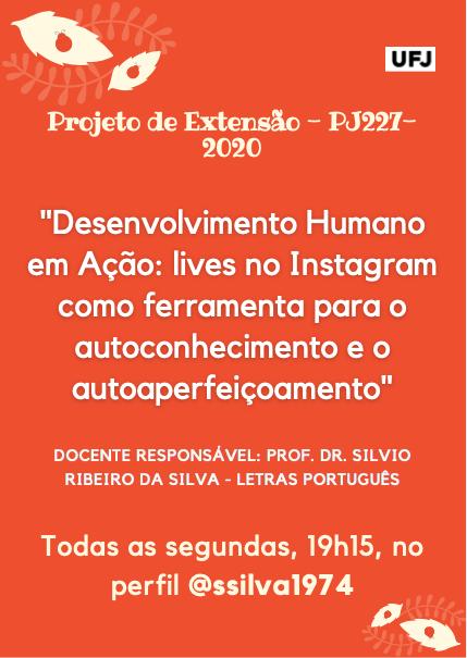 Desenvolvimento Humano em Ação: lives no Instagram como ferramenta para o autoconhecimento e o autoaperfeiçoamento